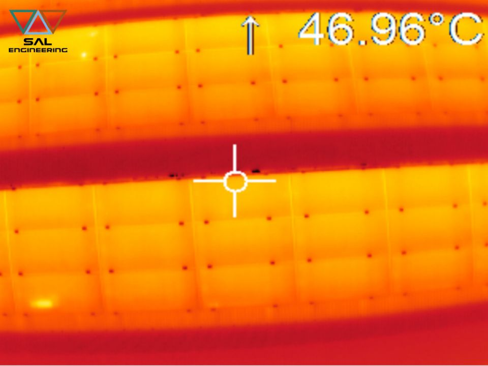 Thermographic survey of structures